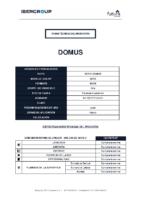 FUTURA – 45X45 Domus (Ficha técnica)