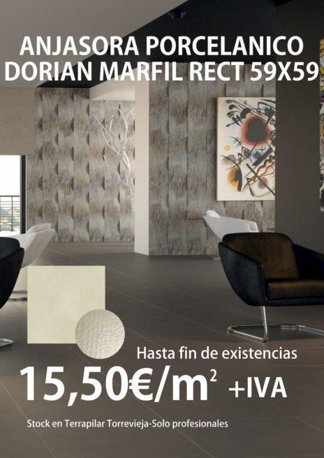 OFERTA ANJASORA 59X59 PORC DORIAN MARFIL RECT-TERRAPILAR-PROFESIONALES-PEQ