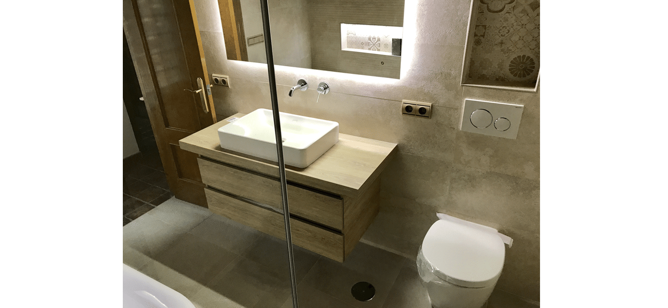 Renovación baño vivienda en Torrevieja VI