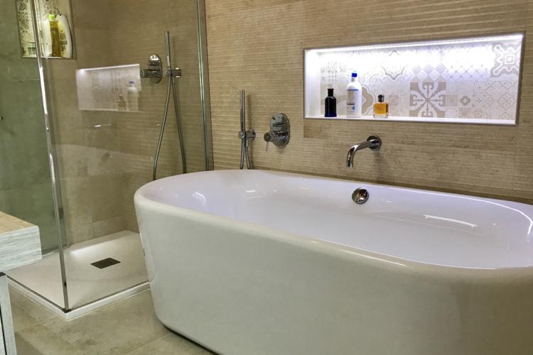 Renovación baño vivienda en Torrevieja I