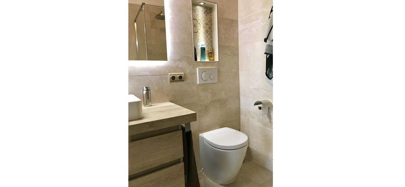 Renovación baño vivienda en Torrevieja II
