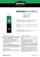 BRAVO – Espuma PU (Ficha técnica)