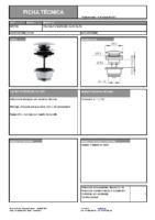 DIVA – Válvula Click-Clack (Ficha Técnica)