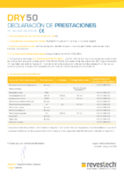 REVESTECH – Dry50 (D.Prestaciones)