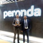 Fotografía de Peronda con Premio Alfa de Oro en Cevisama