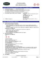 BRAVO – Cemento Cola Capa Gruesa Blanco (Ficha Seguridad) (CP)