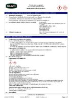 BRAVO – Cemento Cola Especial Porcelanico Blanco C1 TE (Ficha Seguridad) (CP)