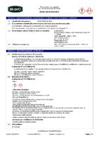 BRAVO – Cemento Cola Gris (Ficha Seguridad) (CP)