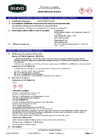 BRAVO – Cemento Cola Porceflex Blanco C2 TE (Ficha Seguridad) (CP)