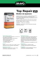 BRAVO – Mortero de Reparación R4 Top Repair (Ficha Técnica)