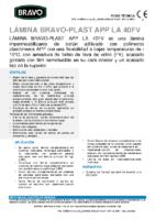 BRAVO – Tela Asfáltica LA-40-FV APP (-10ºC) (Ficha Técnica)