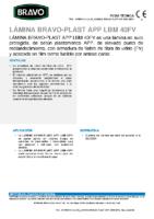 BRAVO – Tela Asfáltica LBM-40-FV APP (-15ºC) (Ficha Técnica)