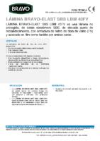 BRAVO – Tela Asfáltica LBM-40-FV SBS (-15ºC) (Ficha Técnica)