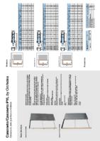 MAYDISA – Estructura para puertas corredera Casoneto (Ficha Tecnica)