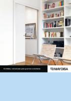 MAYDISA – Estructura para puertas correderas Orchidea (catálogo)