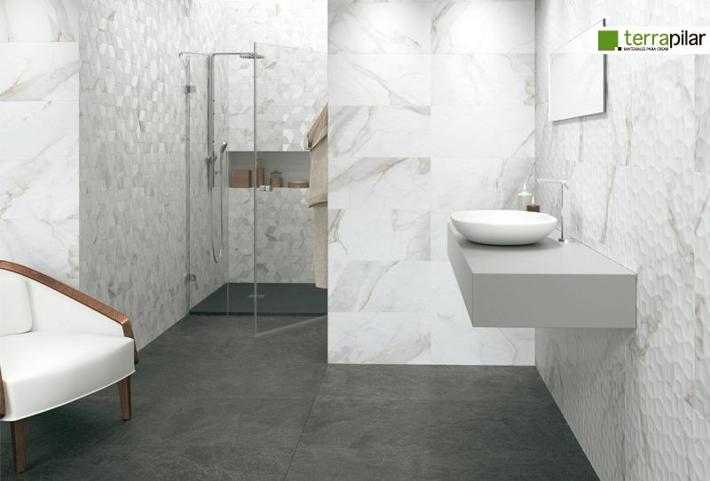 Suelos para cuarto de baño ¿Cuál elegir? Inspírate con estos ...