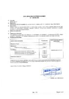 Declaración de prestaciones Bravo Gel S1