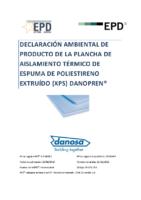 DANOSA – XPS (Declaración Ambiental)