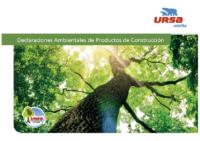 URSA – Todos los productos (Declaración Ambiental)