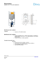 DIVA – Bastidor 74 Plus S90 Sanitarblock (Ficha técnica)