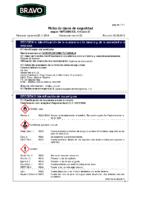 BRAVO – Espuma PU Canula (Ficha de Seguridad)