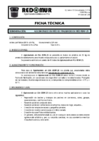 REDOMUR – Aglomerado Asfáltico (Ficha Técnica)
