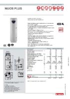 ARISTON – Bomba de calor areotermia Nuos Plus 250 (ficha técnica)