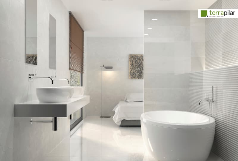 baño azulejos