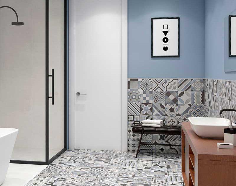 Suelo hidráulico y azulejo TAU Ceramics Rivet distribuido por Terrapilar Alicante, Murcia, Santa Pola, Cartagena, Torrevieja, Pilar de la Horadada