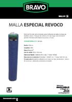 BRAVO – Malla Mortero (Ficha Técnica)