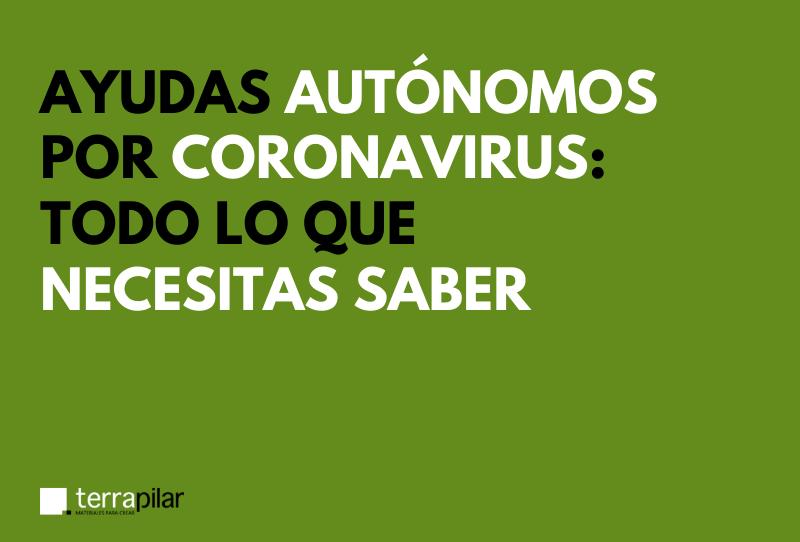 ayudas autónomos coronavirus