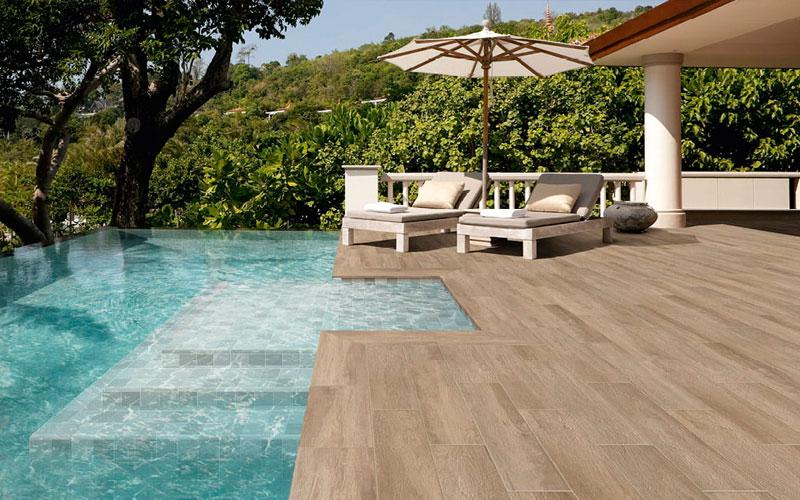 Suelo para piscinas azulejos porcelánicos para piscinas Natucer Hyde Park