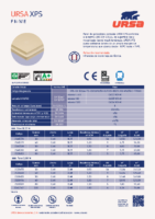 URSA – XPS Pared N W E (Ficha Técnica 03-2020)