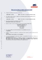 URSA – XPS Ranurado Cubierta N III PR (D. Prestaciones 03-2020)