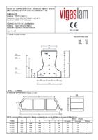 VIGAS LAM – Viga Pretensada T-120 (Ficha Técnica)