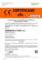 BRAVO – Mortero M-5 Y M-7,5 (Certificado Conformidad APPLUS+)(CLC)