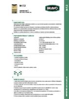 BRAVO – Mortero M-7,5 (Ficha Técnica) (CLC)