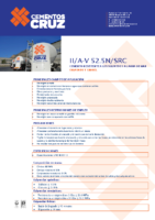 Cementos La Cruz – Cemento Gris II A-V 52.5 SRC (Ficha Técnica)