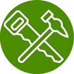 materiales y herramientas para carpintería y perfilería