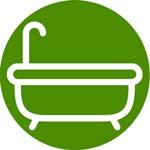 Materiales para baño: griferías, bañeras, duchas, cerámicas...