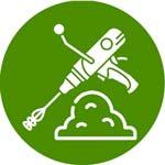 Morteros y materiales de agarre para obras, reformas y construcciones