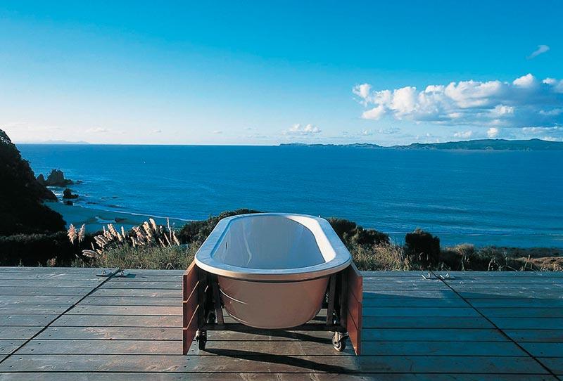Baño de diseño Terrapilar