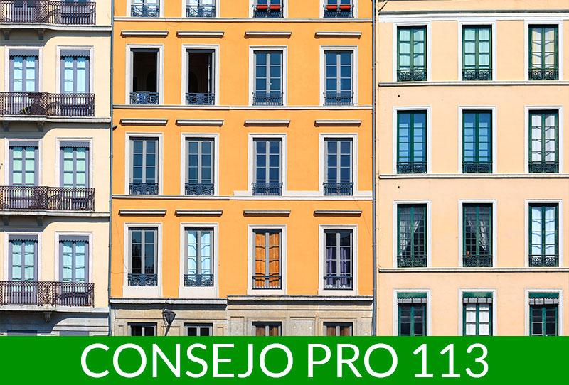 Consejos PRO 113 Sistemas SATE para aislamiento de fachadas