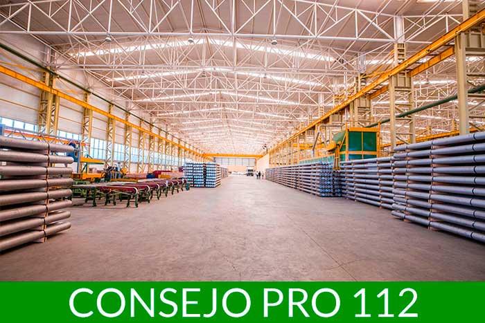 Consejo pro 112 ¿Cómo almacenar materiales de construcción, obra y reforma?