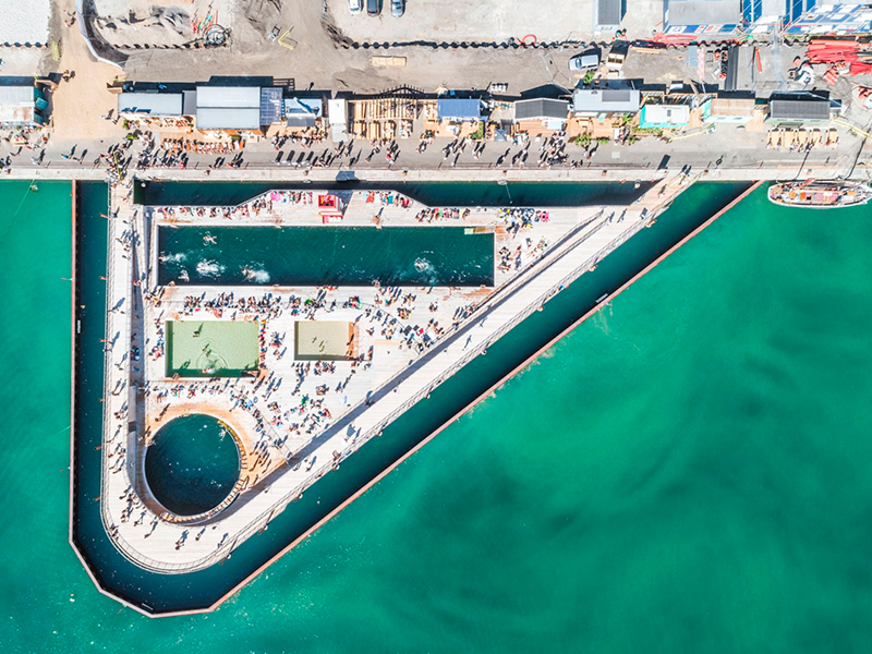 Borde portuario de dinamarca redefinido   Carlos Ferrater