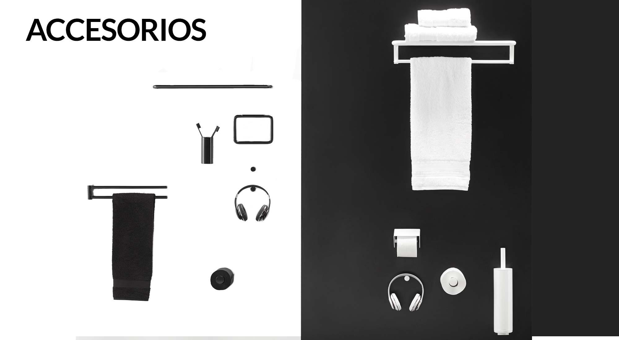Accesorios para completar el diseño de tu baño