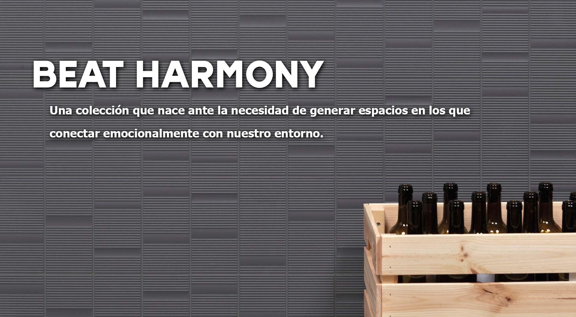 Beat Harmony Colección que nace ante la necesidad de generar espacios en los que encontrarnos en calma y relajados. | Terrapilar