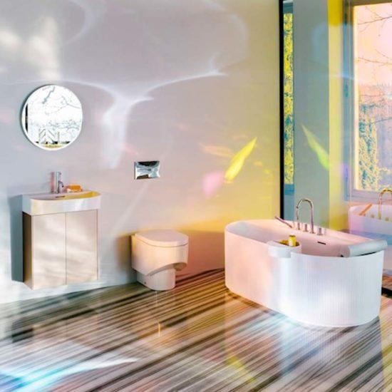 Colección baño Sonar Laufen Terrapilar