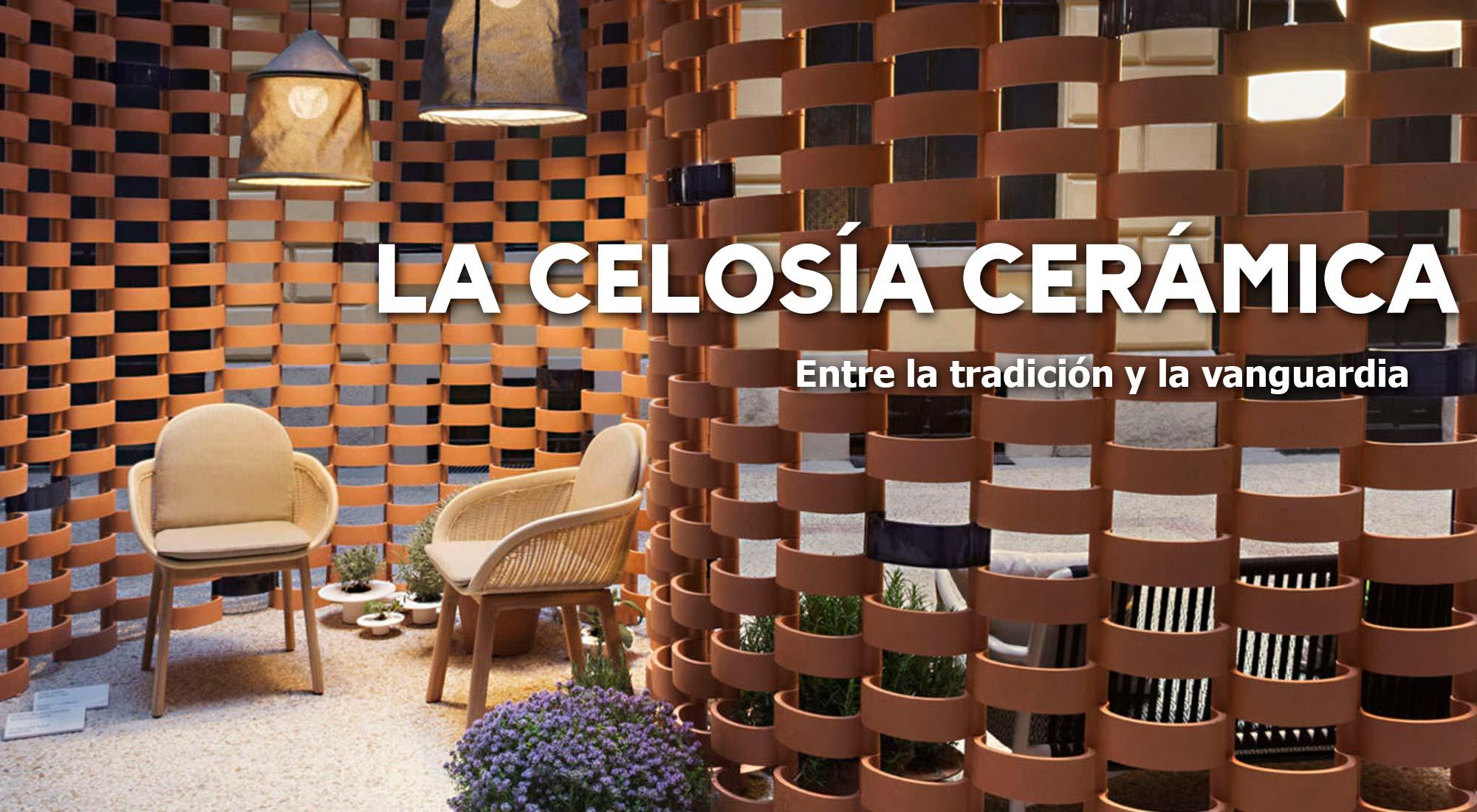 celosía cerámica tradición y vanguardia