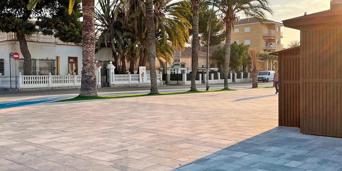 Reforma del paseo marítimo de San Pedro del Pinatar